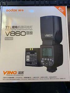 Godox V860II i-TTL 2.4G Li-ion LED Camera Flash Speedlite for Nikon Cameras