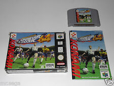 International Superstar Soccer 64 (ISS 64) & Michael Owen WLS 2000 für N64