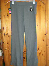 NEW GIRL'S SCHOOL UNIFORM GREY TROUSERS DIRT DEFENCE ADJ WAIST H 152 AGE 11 -12