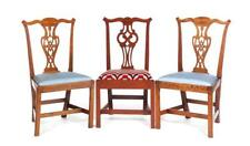 Three American Chippendale Side Chairs. Lot 108