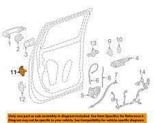 GM OEM Lock -Rear Door-Upper Hinge Left 20986575
