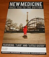 New Medicine Race You to the Bottom Poster Tour 2-Sided Promo 17x11