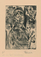 Patrick Winer graveur XXe siècle expressionnisme