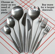 Choose Your Pieces of Norstaal Aztec 18/8 Norway Stainless Don Wallance Flatware