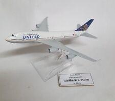 UNITED AIRLINES UA Die cast Model in Box Boeing B747 1:500  N199UA Plane