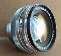 JUPITER-8m 50mm f2  Lens USSR Mount CONTAX. For KIEV Rangefinder
