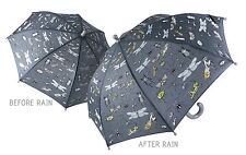 Floss & Rock Colour Change Umbrella Bugs Design Have Fun In The Rain Boys Gift