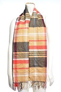 Croft & Barrow Unisex Plaid Super Soft Acrylic Fringed Scarf - Select a color
