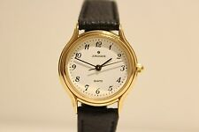"""VINTAGE RETRO BEAUTIFUL SMALL GERMANY GOLD PLATED LADIES QUARTZ WATCH """"JUNGHANS"""""""