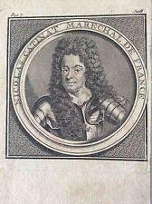 Maréchal Nicolas Catinat de La Fauconnerie seigneur de Saint-Gratien XVIIe
