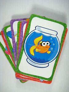Sesame Street Flash Cards Hebrew Words ABC's Set 30 Cards Age 3 to 6 Case