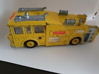 VINTAGE DINKY 263 ERF AIRPORT FIRE TENDER,RESCUE,FIRE ENGINE .