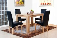 RECTANGULAR WOODEN DINING TABLE ON ITS OWN LIGHT OAK FINISH MODERN NEW