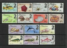 Mauritius selection - used - values to 5R