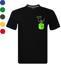 Pickle Rick Pocket Horror Graphic Tee Rick and Morty Comedy Men's T Shirt Gifts