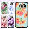 Galaxy S9 S9 Plus S8 S7 S6 Edge S5 Note 8 5 4 Case Flower Bumper Print Cover