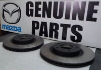 Genuine Mazda 3 2011 Onwards Front Brake Discs Pair C26Y3325XD