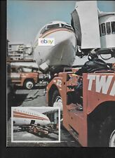TWA TRANS WORLD AIRLINES BOEING 707/727 1978 ARTICLE AIRLINE QUARTERLY STOPS