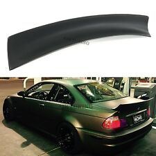 BMW E46 Rocket Bunny Rear Boot Lid Trunk Spoiler Ducktail Wing Lip 2 Door Coupe