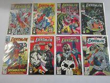 Deathlok Comic lot #1 - 34 + ANN (35 DIFF) - 6.0 FN (1991 -1994)