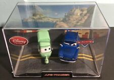 Disney Store Pixar CARS Ape and Tomber 1:43 Die Cast in Acrylic Collectors case