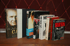 Mixed Lot of Biography Books Music Springsteen Cash Townshend Mr Nice Trail Tear