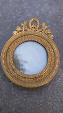 Ancien cadre photo. Old photo frame