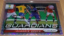 Claudio Bravo 2014 PRIZM WORLD CUP CHILE GUARDIANS REFRACTOR #7 BARCELONA