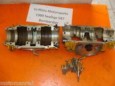 89 SEA-DOO 587 SP 90 88 91 xp? YELLOW Bombardier 580 CRANKCASE ENGINE CASES CASE