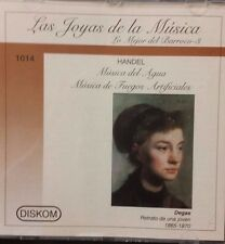 Las Joyas de la Musica - Handel - Lo Mejor del Barroco - 3 (CD)