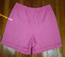 New listing Vintage Women'S Pink Drawstring Shorts - Koret - Size 20W