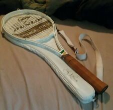 Dunlop John Mcenroe Ceramic Racquet With Scarce Auto Cover
