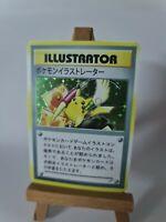 Handmade Proxy Pikachu Illustrator Pokemon Card in Holo