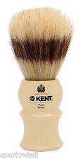 Kent Ivory Acrylic Pure Boar Bristle Badger Effect Small SHAVING BRUSH VS30