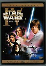 Star Wars IV : A New Hope ( DVD,2004 ) Full Screen