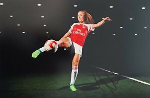 LIA WÄLTI 2 Arsenal London Schweiz SUI Foto signiert 20x30 8x12 signed Autogramm
