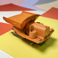 triang minic plastic with motor SITE DUMPER Missing Wheels! Motor Working,