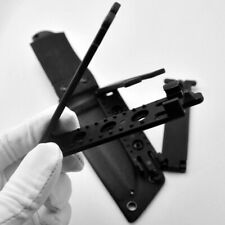 Tactical Molle-Lok Kydex K Sheath Clip w/ 2 Screw For Molle Backpack Scabbard