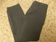 Dockers Straight Fit 30 X 30 ( zippered side pocket ) Gray Pants--Free Shipping