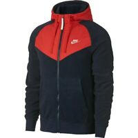 Nike Sportswear Full Zip Mens Hoodie Jacket Blue Multi Size Casual Pullover Top