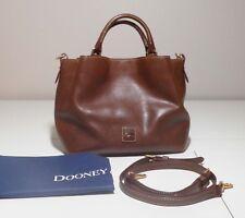 Dooney & Bourke Florentine Leather Small Brenna Satchel in Chestnut - Gorgeous!