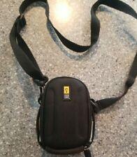 Case Logic Point Digital Camera Pouch Case Bag Holder With Strap Black