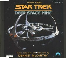 Dennis McCarthy ‎Maxi CD Theme From Star Trek Deep Space Nine - Europe (M/M)