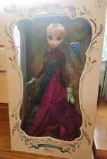 "Frozen Disney Limited Edition Coronation Elsa Doll 17"""