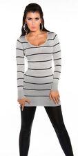 Jersey de mujer de color principal gris de poliamida