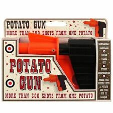 10 X Potato Spud Gun Traditional Toy Great STOCKINGFILLER