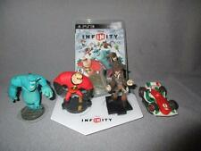 Sony PlayStation 3 Disney Infinity Lot Game Portal Base & Characters PS3 Bundle*