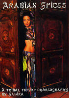 Arabian Spices (DVD, 2005): Instructional Belly Dance Tribal Fusion Choreography