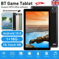 """10.1"""" Inch Tablet PC HD Android 4.4 1+16GB WIFI Dual SIM Camera GPS Phablet NEW"""