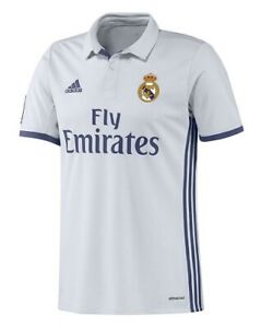 ADIDAS S94992 REAL MADRID HOME SHIRT 2016-17 White Size Small DH011 KK 09